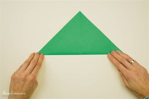 how to make 3d paper christmas tree all steps diy