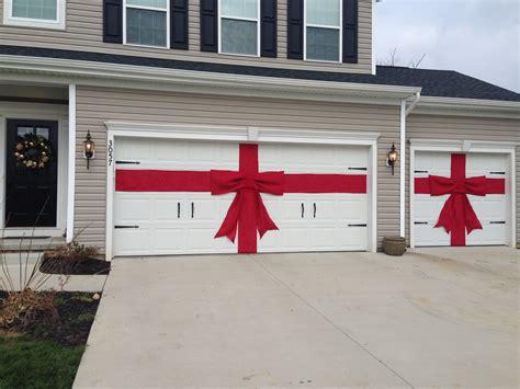 christmas garage door