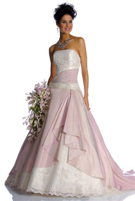 hochzeitskleid farbig hochzeitskleid farbig