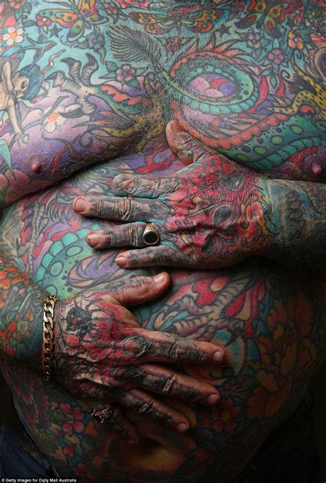 hepatitis c tattoo reformed gangster kenney covered every inch of his