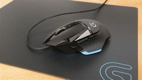 Mouse Gaming Logitech G502 logitech g502 proteus gaming mouse review techradar