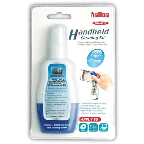 Halloa Screen Clean Kit Hn 4822 Berkualitas halloa handheld cleaning kit 45ml d2d
