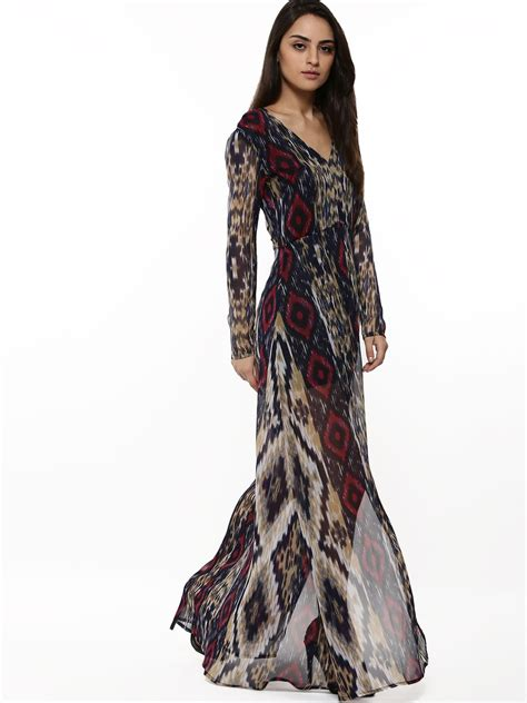 Rena Maxy by Buy Rena Ikat Print Maxi Dress For S