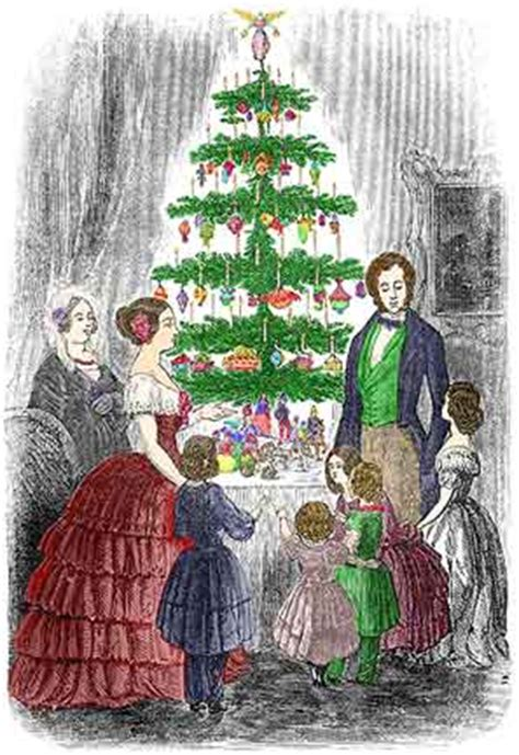 victorian christmas tree first christmas tree