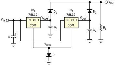 lm7812 protection diode high current voltage regulation reuk co uk