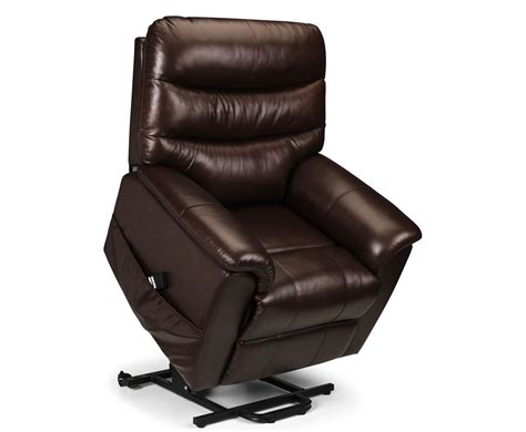 bonded leather recliner chair harlow brown bonded leather rise recliner chair