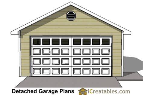 20x24 1 car detached garage plans download and build 20x24 1 car detached garage plans download and build
