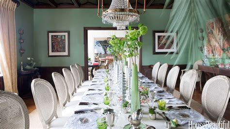 how to layer color and texture benjamin dhong california house green toile dining room loversiq