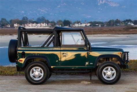 buy car manuals 1997 land rover defender 90 buy used 1997 land rover defender 90 nas convertible exceptional 44 000 original miles in santa