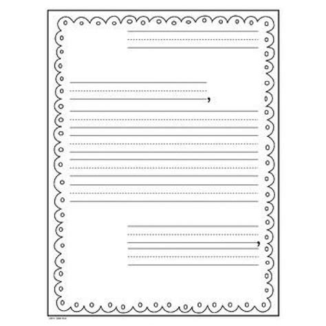templates for letter writing writers workshop letter writing templates more grade 1 2