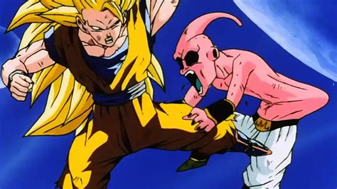 imagenes de goku vs kid buu buu the armbar express