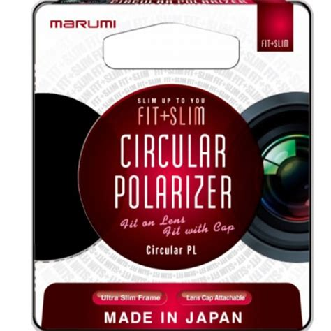 Marumi Circular Pld Filter 46mm marumi 46mm fit plus slim circular polarizing filter fts46cir 163 19 18