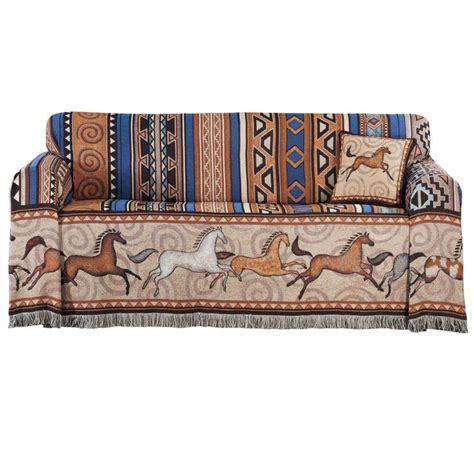 western couch covers western sofa and chair covers southwest and cowboy