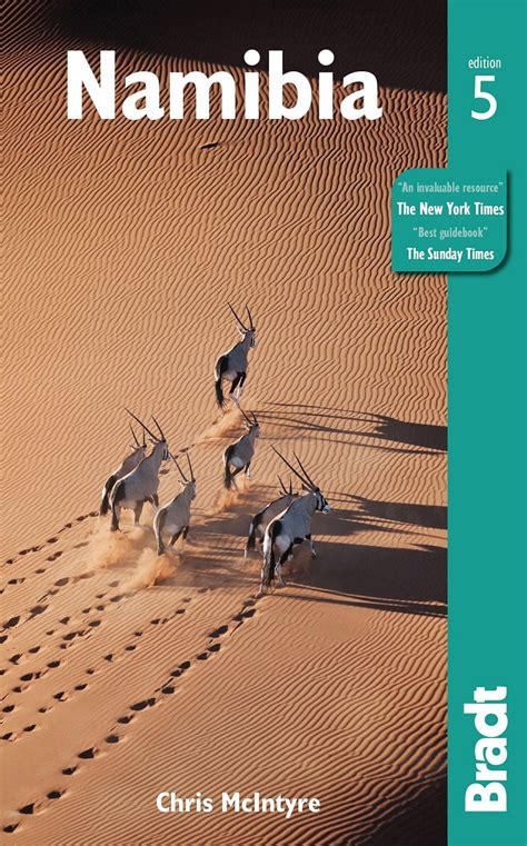 bradt travel guide books bradt travel guide namibia chris mcintyre nhbs book shop