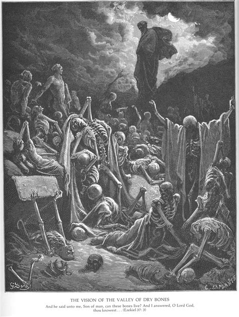 gustave dore bible gallery  testament ezekiel