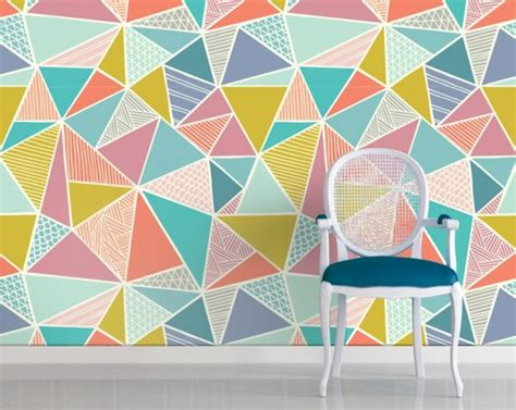 pattern ideas geometric pattern as wall decoration and other interesting