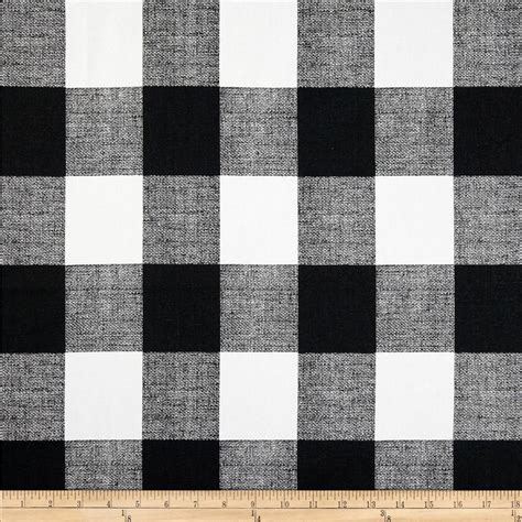 Black And White Upholstery Fabric Australia by Black And White Buffalo Check Fabric Drapery Upholstery