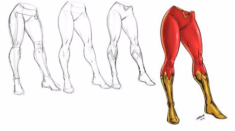 Drawing Legs by Drawing Legs Step By Step