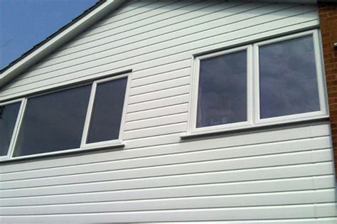 Shiplap Cladding Upvc 150mm x 2 5mtr upvc shiplap cladding board white
