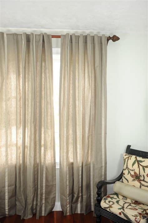 lined linen drapery panels art 233 233 fabrics home sorrento khaki light grey striped