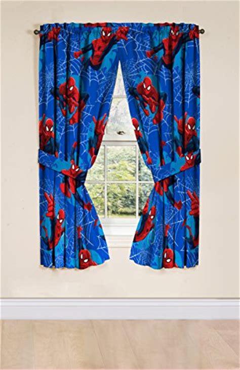 spiderman window curtains marvel spiderman astonish curtain panel 42 quot x 63 quot pair