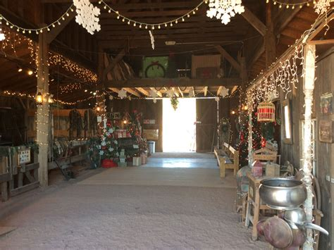 decorating a steel barn for christmas apacheland barn superstition mountain lost dutchman museum