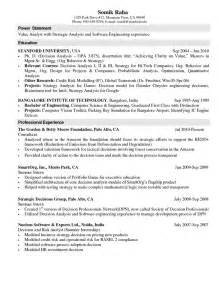 science resume exles computer science resume templates power statement