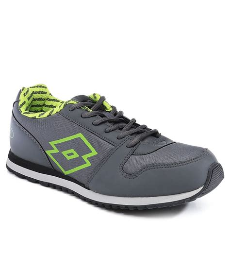 sports shoes for lotto lotto gray sport shoe price in india buy lotto gray