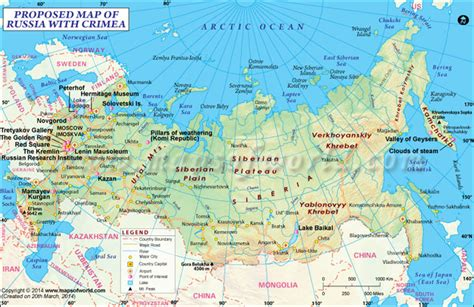 russia map with cities russia map