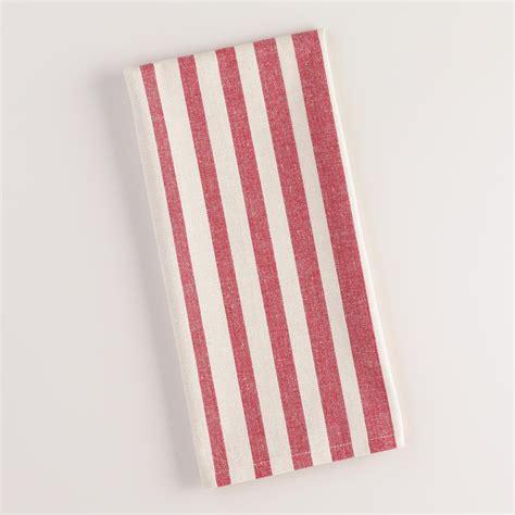 red villa stripe kitchen tea towel world market red ombre stripe kitchen towel world market