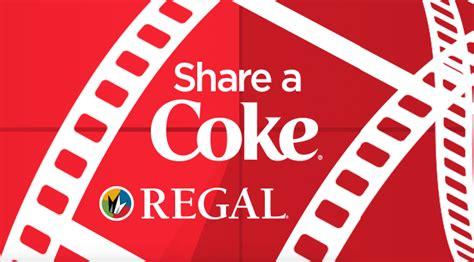 Coke Sweepstakes - coca cola regal cinemas share a coke sweepstakes