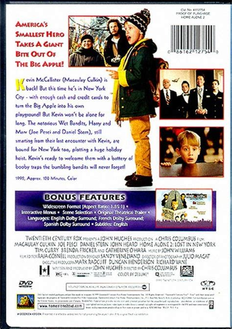 home alone 2 lost in new york dvd 1992 dvd empire