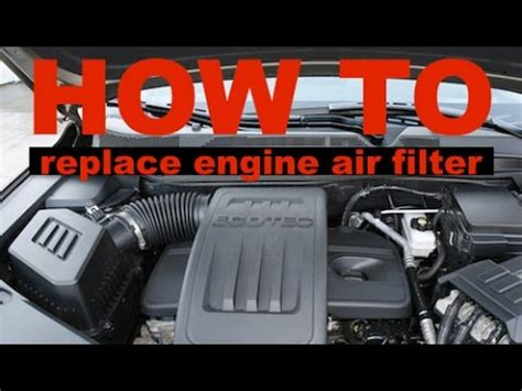 2010 chevy malibu air filter how to change an engine air filter on a 2010 chevy malibu