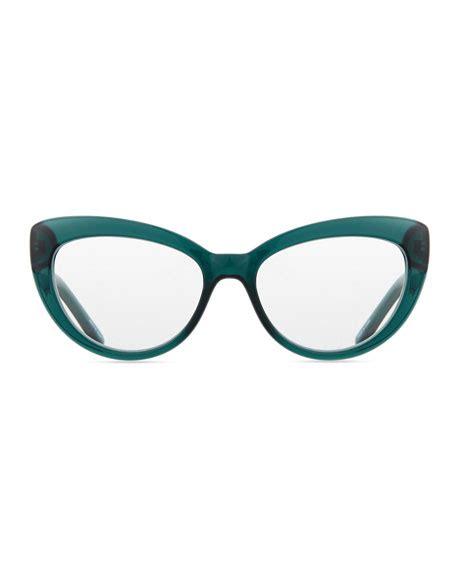 kate spade new york kalena cat eye reading glasses teal