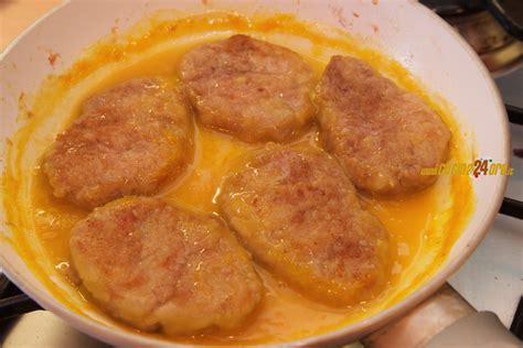 cucinare lonza di maiale fettine di lonza di maiale all arancia senza glutine