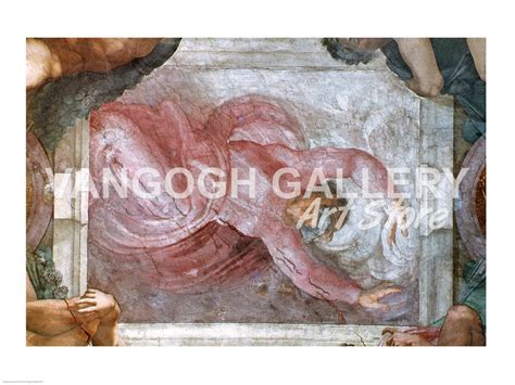 God Sistine Chapel Ceiling by Sistine Chapel Ceiling God Dividing Light From Darkness Print By Michelangelo