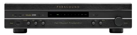Pre Parasound 2100two Channel Pelifier model newclassic 2100 171 parasound
