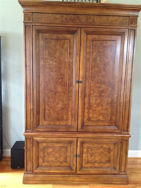 ethan allen armoire pin by christi luther on furniture i already own pinterest