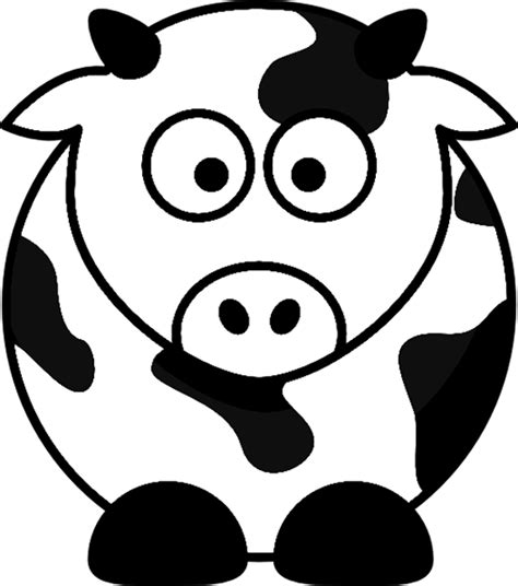 cartoon cow coloring pages printable coloring pages