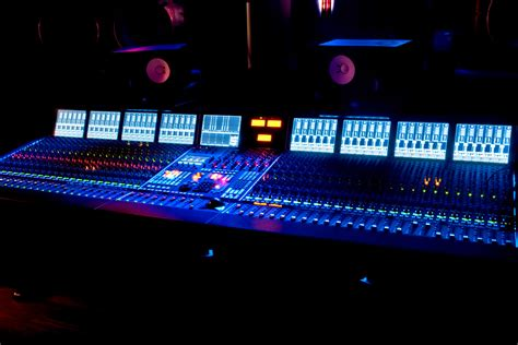 recording mixing console studio a recording and mixing digital services