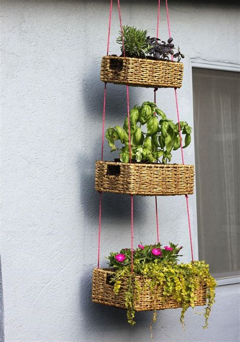 19 inspirational ideas for recycled planters and hanging
