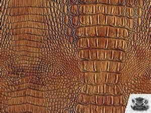 crocodile vinyl crock bronzie fabric upholstery bty ebay