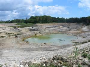pit clay clay pit near arne 169 mike bardill geograph britain and