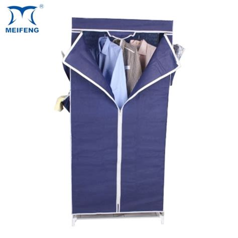 07 Multi Fucntion Wardrobe With Cover meifeng non woven foldable simple portable fabric wardrobe