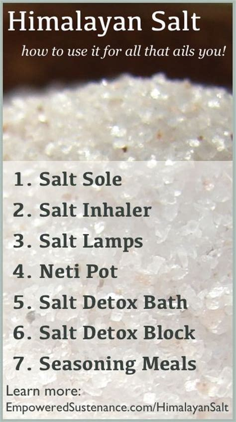 himalayan salt l benefits real best 25 benefits of himalayan salt ideas on pinterest