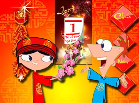 phineas and ferb new year phineas and ferb lunar new year by crossboy1990 on deviantart