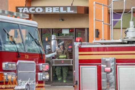 Alarm Taco Bell ttfd responds to taco bell new boston road texarkana today