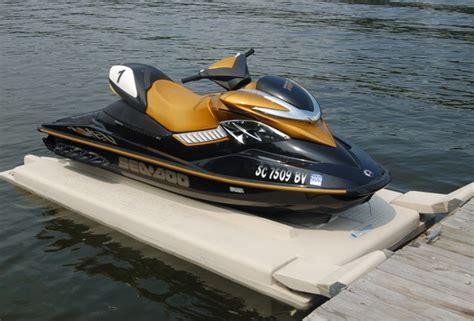 boat slip vs boat dock doc glide n ride personal water craft floating jet ski