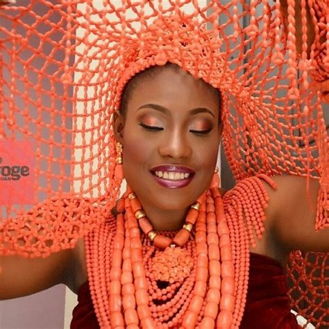 necklaces on traditional nigerian attires 59 best coral beads jewelry nigerian weddings images on