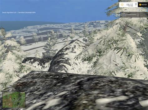 daylight ls for winter bjornhilm winter map v1 0 beta farming simulator 2017